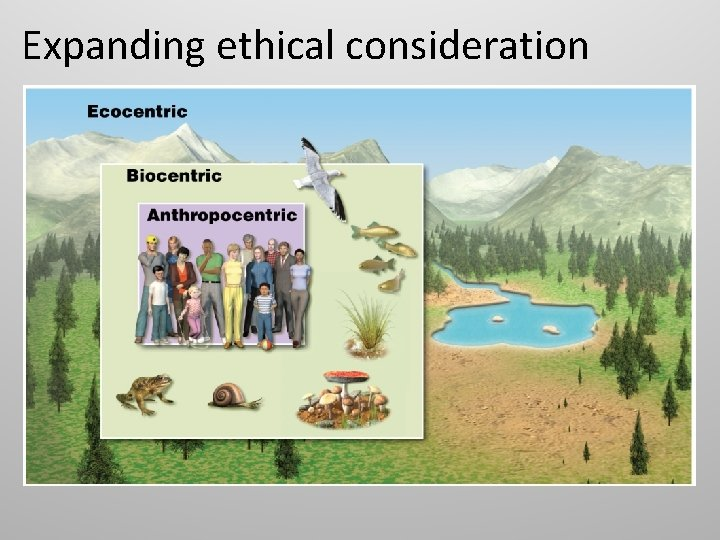 Expanding ethical consideration