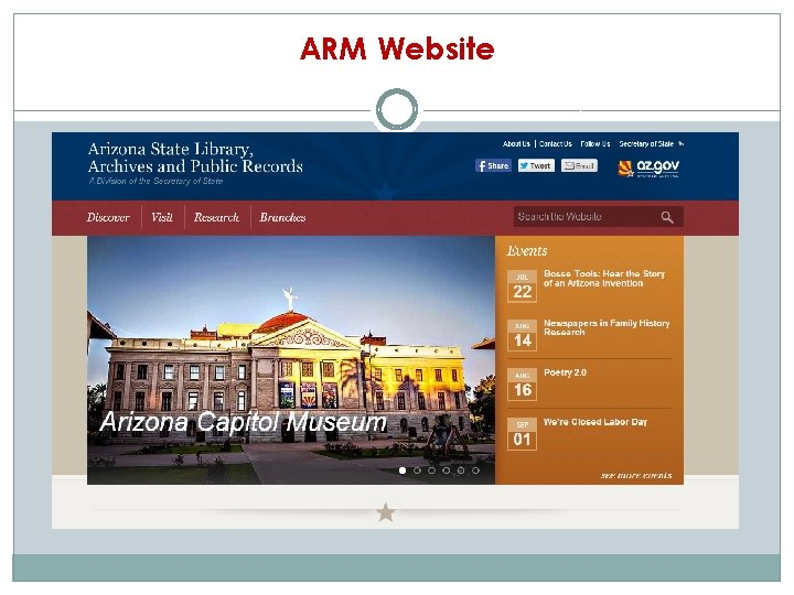 ARM Website