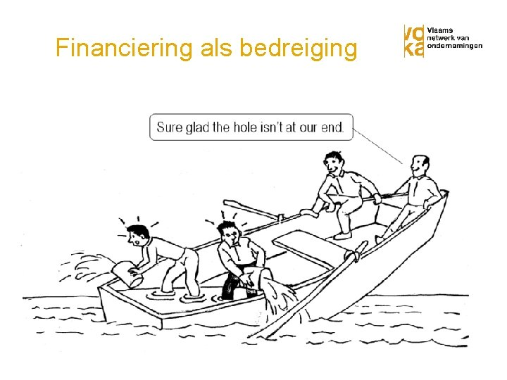 Financiering als bedreiging