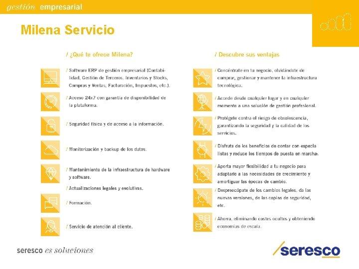 Milena Servicio