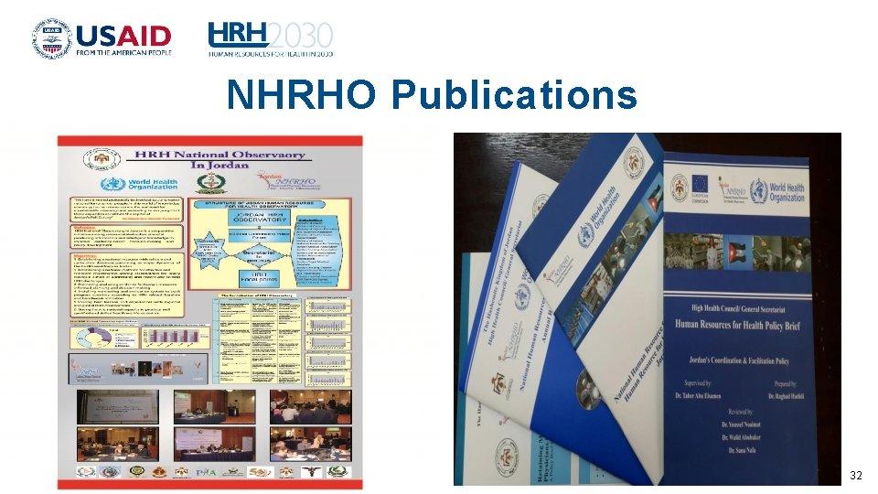NHRHO Publications 32