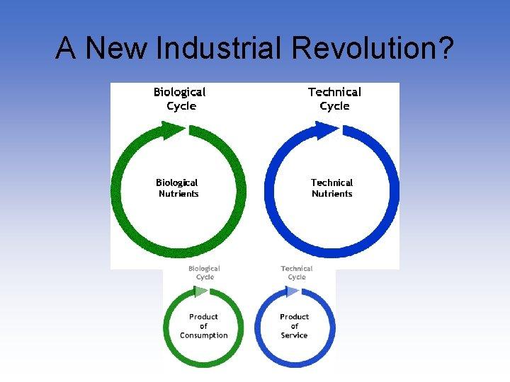 A New Industrial Revolution?
