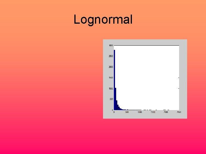 Lognormal