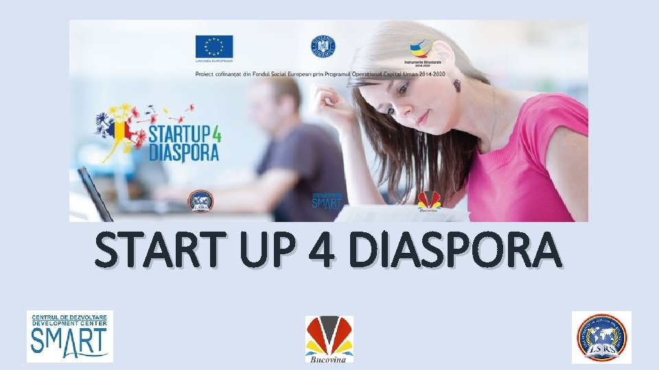 START UP 4 DIASPORA
