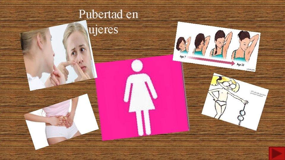 Pubertad en mujeres
