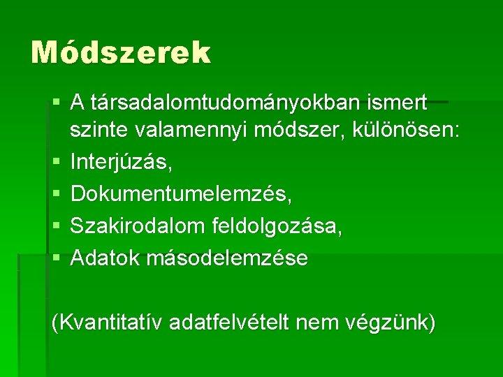workshop know módszerek)