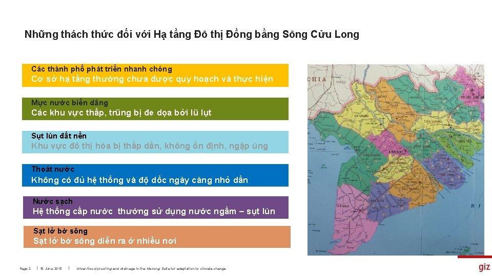 Những thách thức đối với Hạ tầng Đô thị Đồng bằng Sông Cửu Long