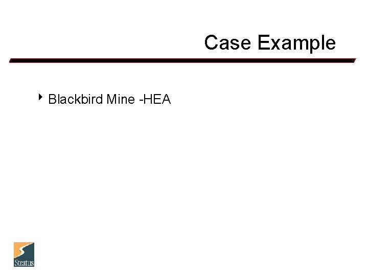 Case Example 8 Blackbird Mine -HEA