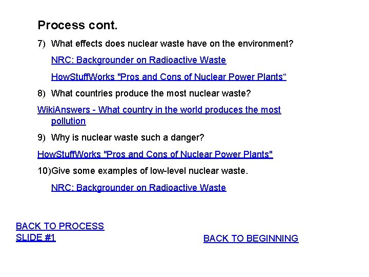 Key answer webquest elements radioactive Radioactive Decay