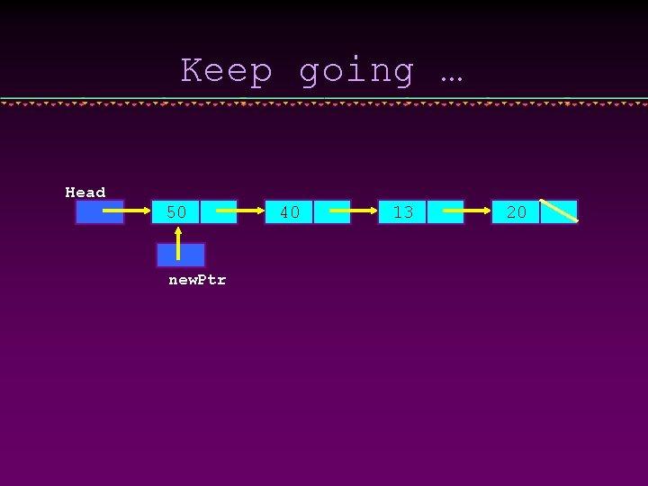 Keep going … Head 50 new. Ptr 40 13 20