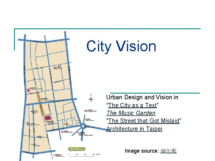 """City Vision Urban Design and Vision in """"The City as a Text"""" The Music"""