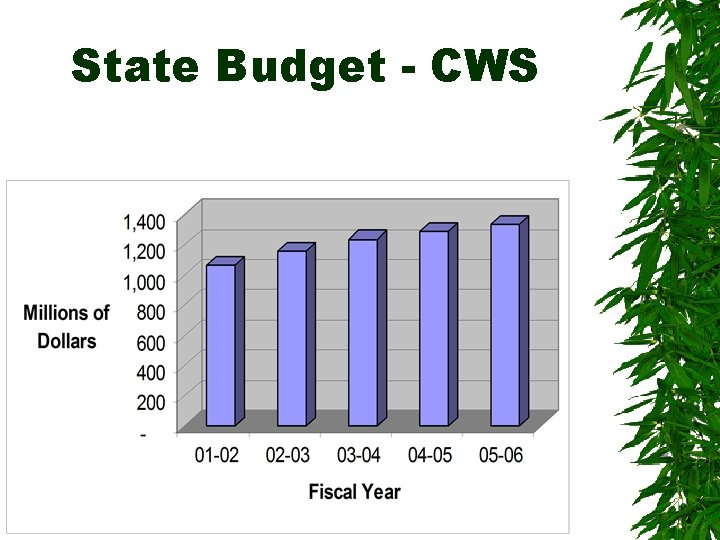 State Budget - CWS