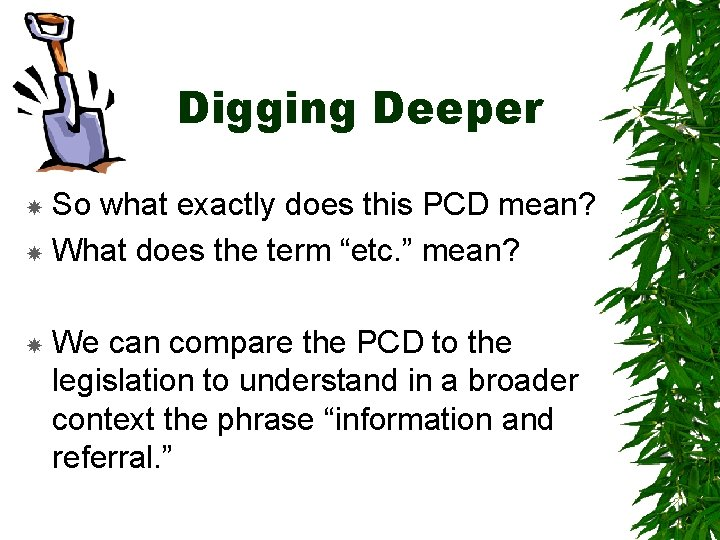 """Digging Deeper So what exactly does this PCD mean? What does the term """"etc."""