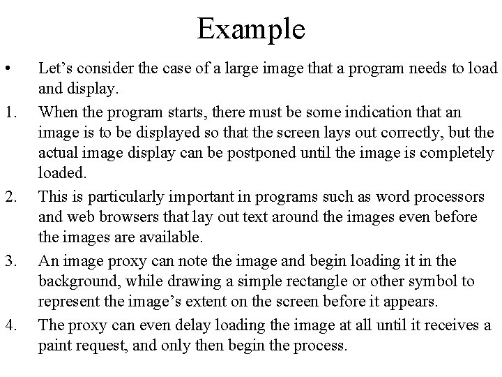 Example • 1. 2. 3. 4. Let's consider the case of a large image