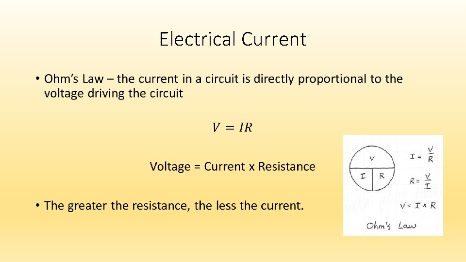 Electrical Current •