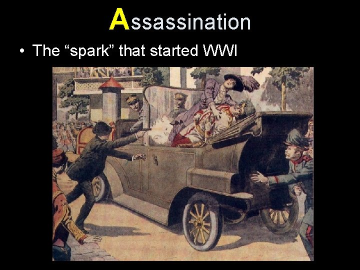 """Assassination • The """"spark"""" that started WWI"""
