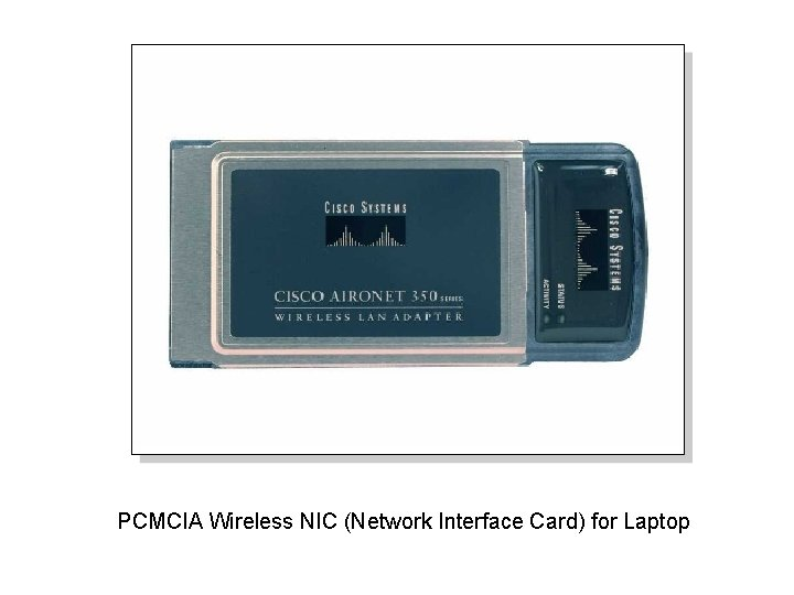 PCMCIA Wireless NIC (Network Interface Card) for Laptop