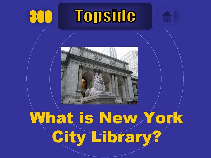 300 What is New York City Library?