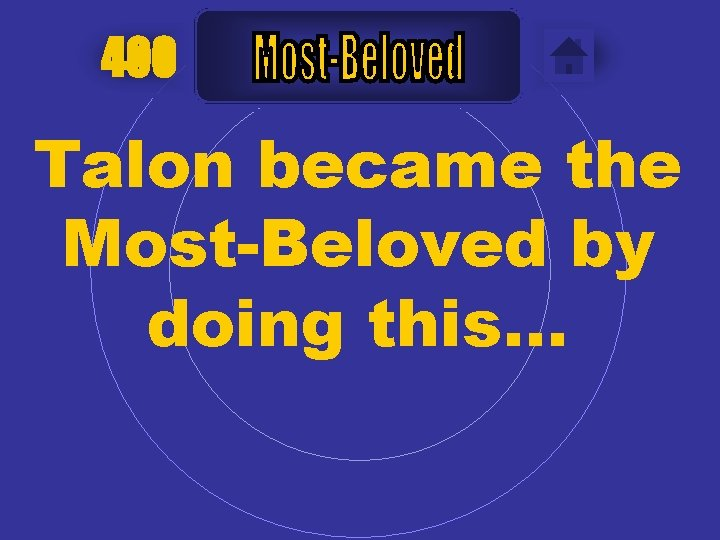 400 Talon became the Most-Beloved by doing this…