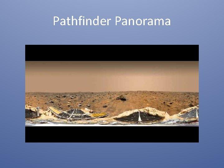 Pathfinder Panorama