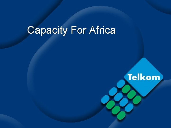 Capacity For Africa