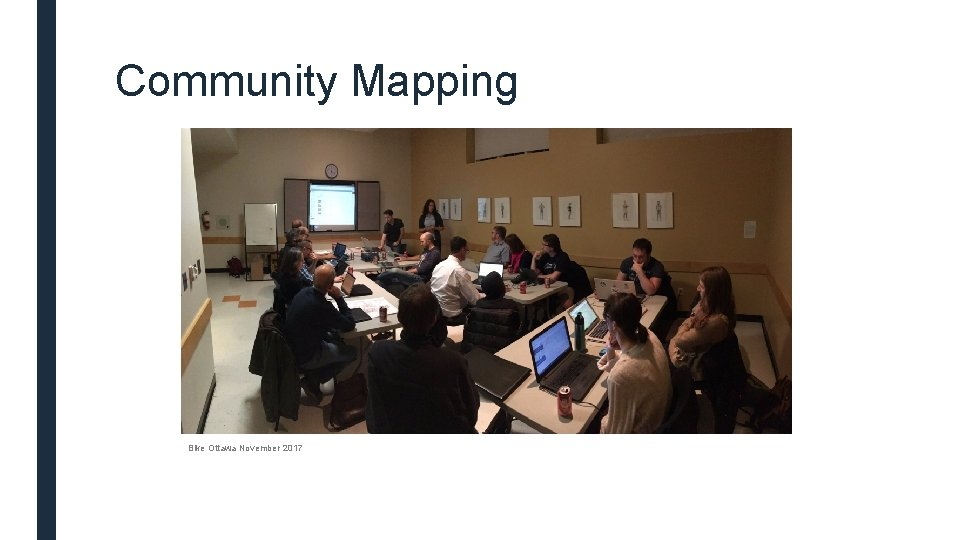 Community Mapping Bike Ottawa November 2017