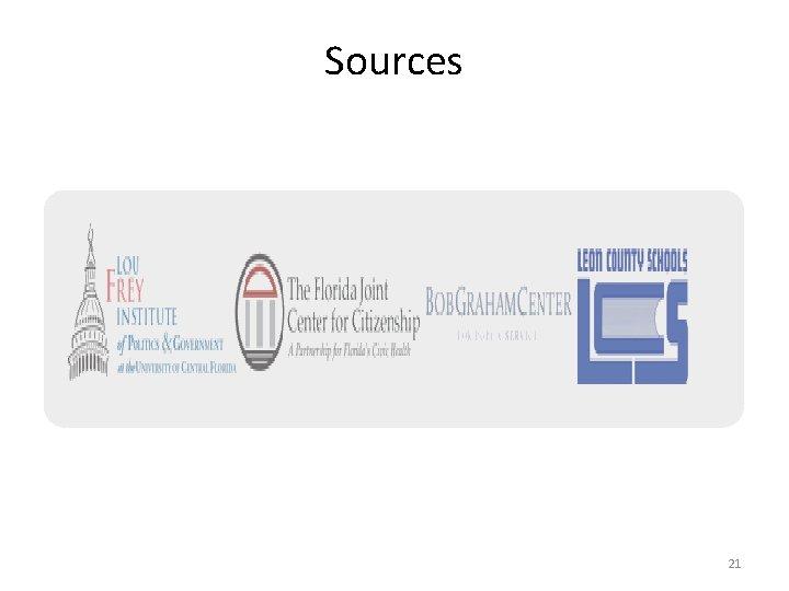 Sources 21