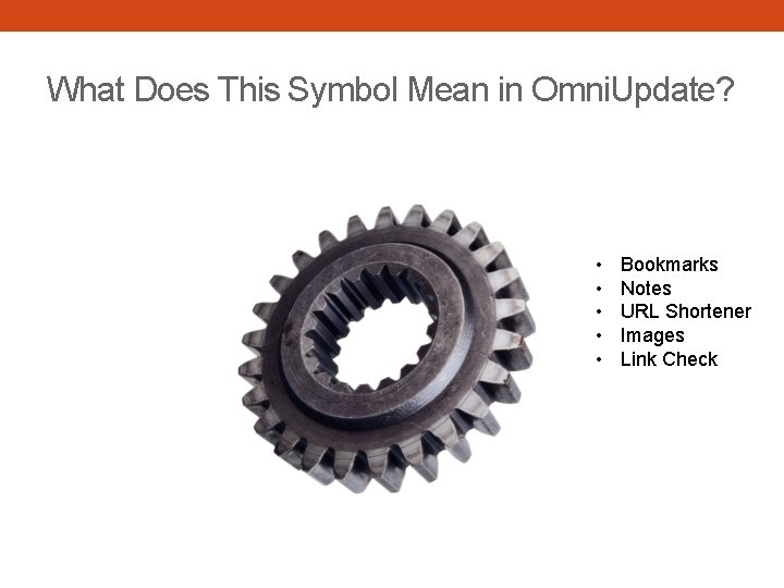 What Does This Symbol Mean in Omni. Update? • • • Bookmarks Notes URL