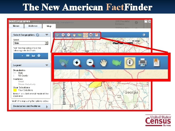 The New American Fact. Finder