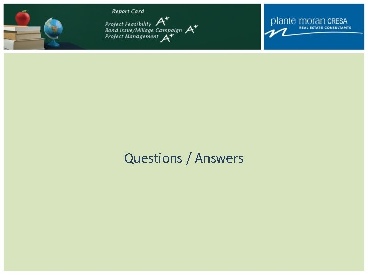 Questions / Answers
