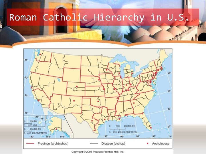 Roman Catholic Hierarchy in U. S.