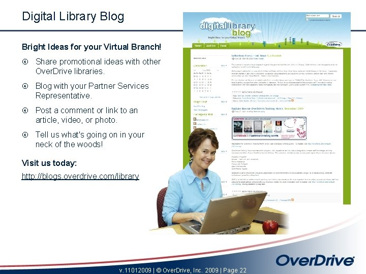 Digital Library Blog Bright Ideas for your Virtual Branch! Share promotional ideas with other