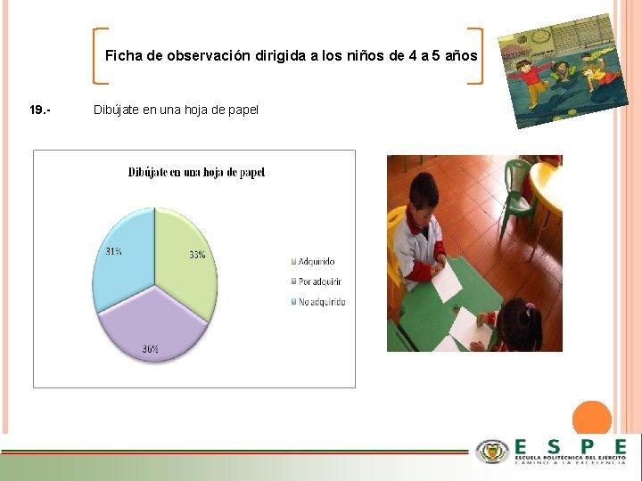 Ficha de observación dirigida a los niños de 4 a 5 años 19. -