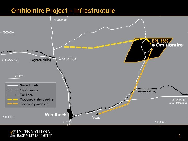 Omitiomire Project – Infrastructure 9