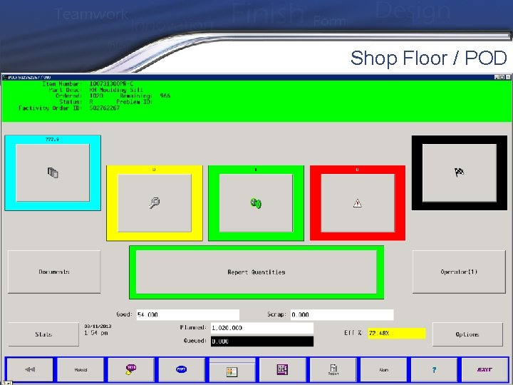 Shop Floor / POD