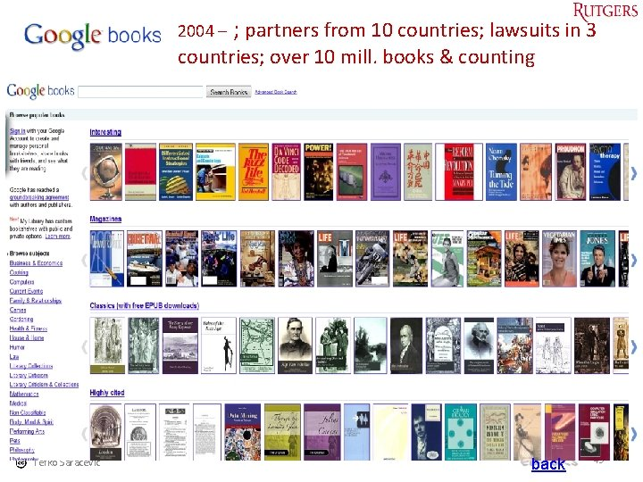 2004 – ; partners from 10 countries; lawsuits in 3 countries; over 10 mill.