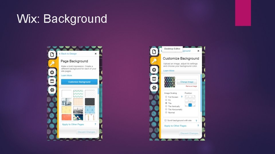 Wix: Background