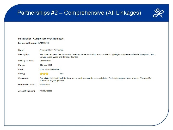Partnerships #2 – Comprehensive (All Linkages)
