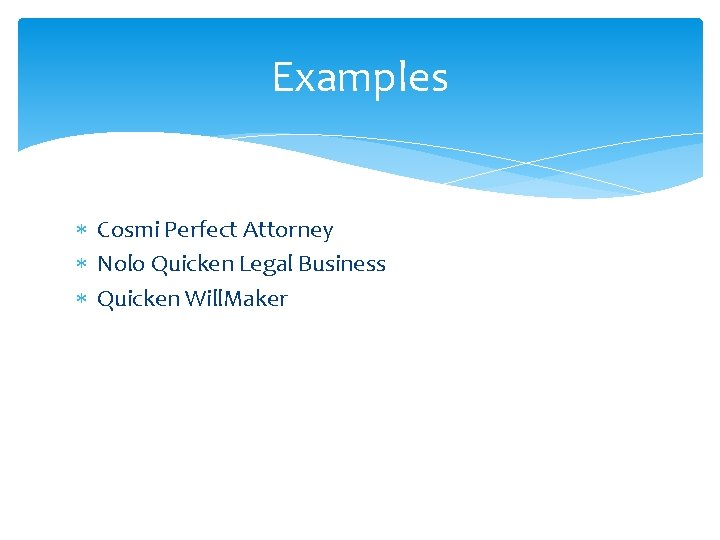 Examples Cosmi Perfect Attorney Nolo Quicken Legal Business Quicken Will. Maker