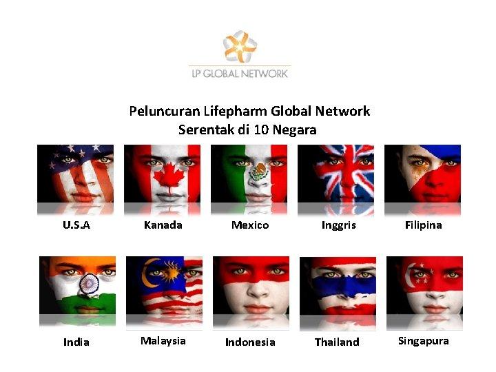 Peluncuran Lifepharm Global Network Serentak di 10 Negara U. S. A Kanada Mexico