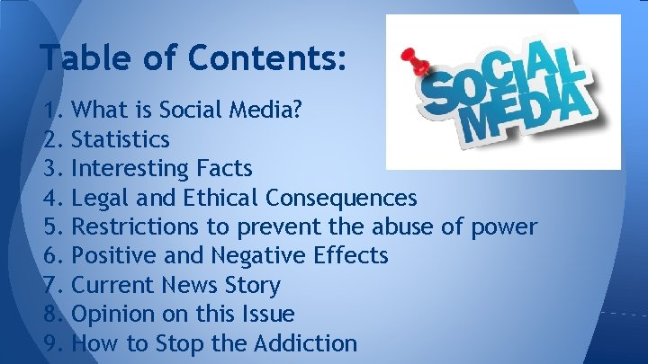 Of social media negative consequences Negative Effects