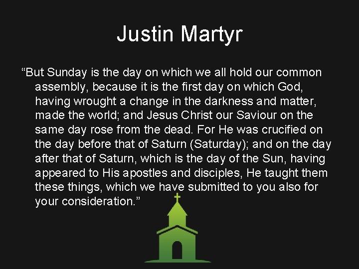 A Study of Church Hist ry Eras of