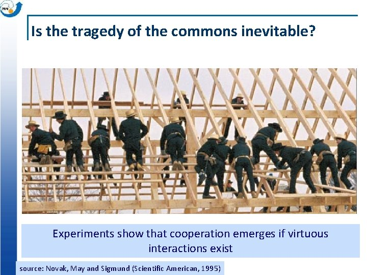 Is the tragedy of the commons inevitable? Experiments show that cooperation emerges if virtuous