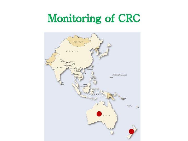 Monitoring of CRC