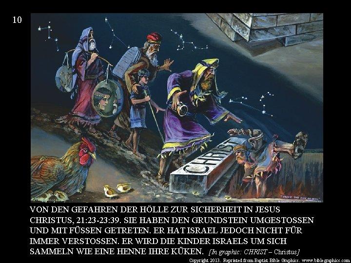 10 VON DEN GEFAHREN DER HÖLLE ZUR SICHERHEIT IN JESUS CHRISTUS, 21: 23 -23: