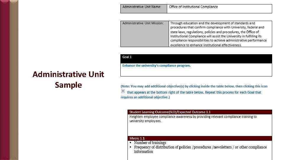 Administrative Unit Sample 19