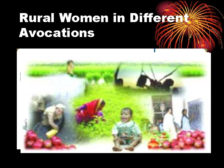 Rural Women in Different Avocations
