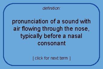 Nose Pronunciation
