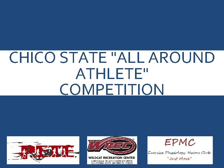"""CHICO STATE """"ALL AROUND ATHLETE"""" COMPETITION © 2013 Mc. Graw-Hill Higher Education. All rights"""