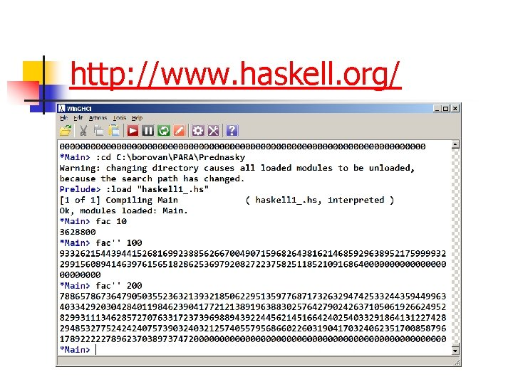 http: //www. haskell. org/